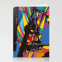the wire Stationery Cards featuring wire by PINT GRAPHICS