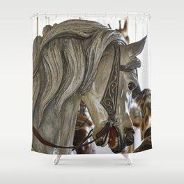 Carousel Pony Shower Curtain