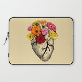 Flower Heart Laptop Sleeve