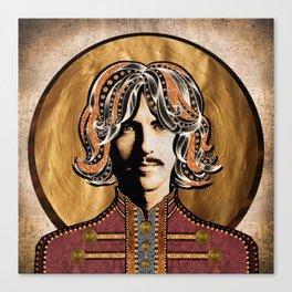 Boho Beatle (George) Canvas Print