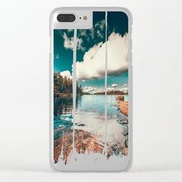 Belle Svezia Clear iPhone Case