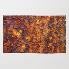 Heavy Rust Rug
