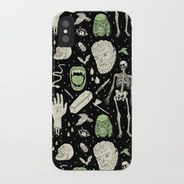 Whole Lotta Horror: BLK ed. iPhone Case