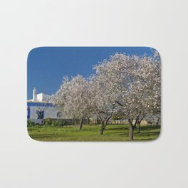 An Algarve almond orchard in Spring Bath Mat