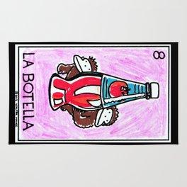 Loteria Ape #8: La Botella Rug