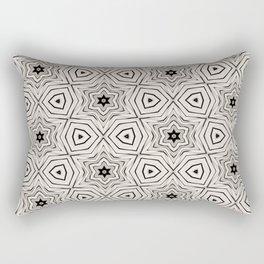 Paper Stars Rectangular Pillow