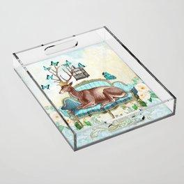 Deer me Acrylic Tray