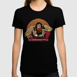 Korgoth of barbaria T-shirt