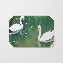 Two Swans Bath Mat