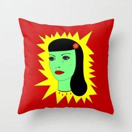 Muerto Amor Throw Pillow