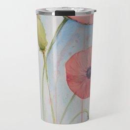 Sheila's Poppies Travel Mug