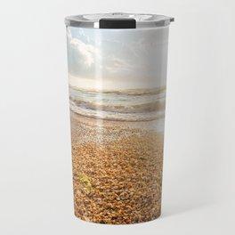 Sunset Cockleshell Travel Mug