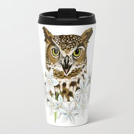 Sagittarius Owl Travel Mug