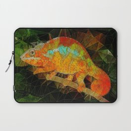 welcome to the jungle, abstract chameleon Laptop Sleeve