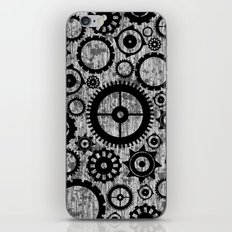 Grunge Cogs. iPhone & iPod Skin