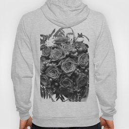 Roses (black and white) Hoody