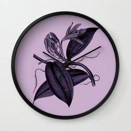 lilac vanilla Wall Clock