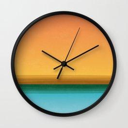 Quiet (landscape) Wall Clock