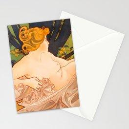 "Alphonse Mucha ""Dawn"" Stationery Cards"
