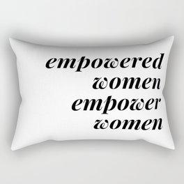 empowered women empower women Rectangular Pillow