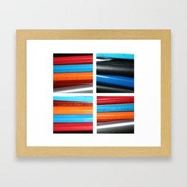 Pens & Pencils Framed Art Print