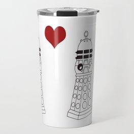 Daleks need love too Travel Mug