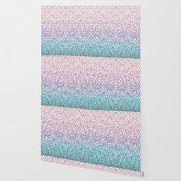 Spring Mermaid Scales Wallpaper