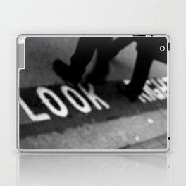 Bus lane London Laptop & iPad Skin