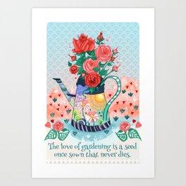 Gertrude's bunch Art Print