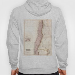 Vintage Map of Chile (1818) Hoody