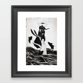 A Mile Away From Anywhere Framed Art Print