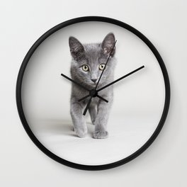 Kitten 2 Wall Clock