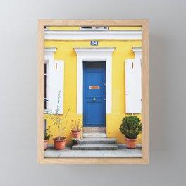 58. Yellow House, Paris Framed Mini Art Print