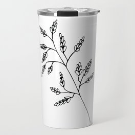 Branch White Travel Mug