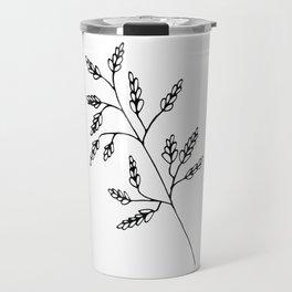 Branch White Travel Mug