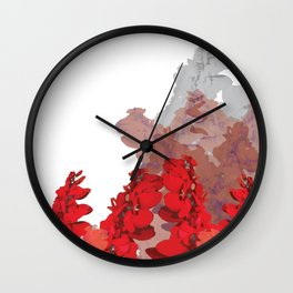 Royal Chaconia Wall Clock
