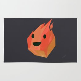 Fireball! from Elementary Characters Rug