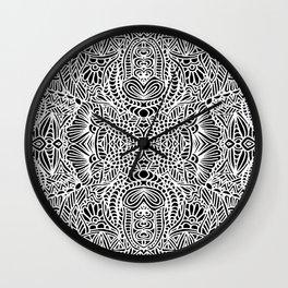 Zentangle 002 Wall Clock