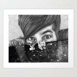 Diamondminecraft  Art Print