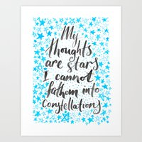 tfios Art Prints featuring TFIOS by IndigoEleven