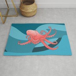 Octopus Pattern Rug