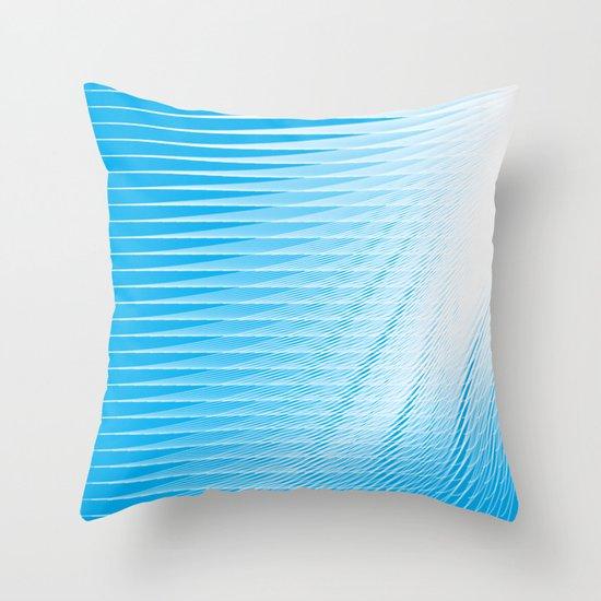 frozen still Throw Pillow