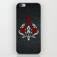 assassins creed iPhone & iPod Skins featuring Creed Assassins  by neutrone