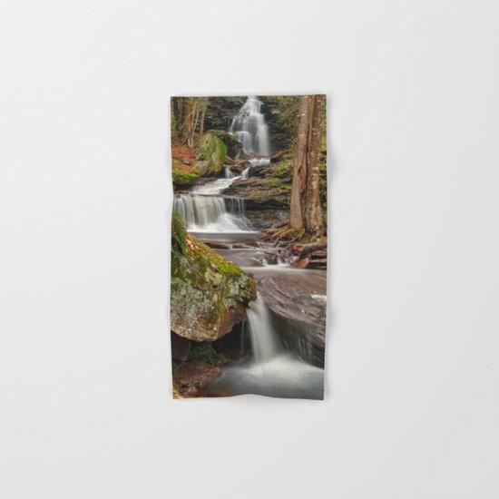 Ricketts Glen Waterfall Layers Hand & Bath Towel