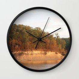 Wolf Creek Park Bluff Wall Clock
