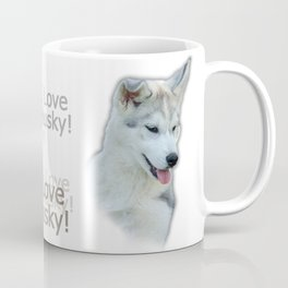 Husky puppy Coffee Mug