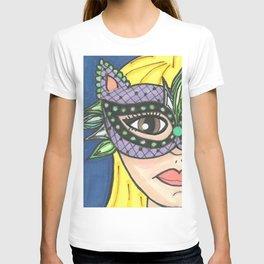 Mask Girl T-shirt