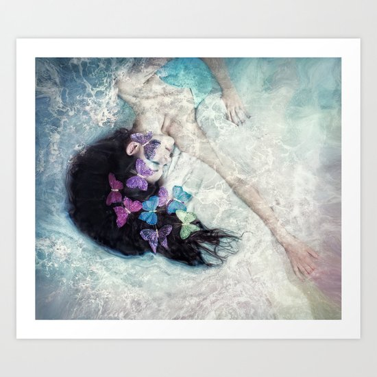 Sea Swept Dreams Art Print