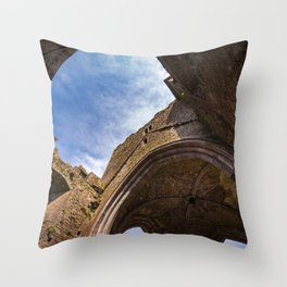 Rock of Cashel, Ireland Throw Pillow