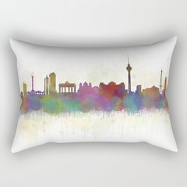 Berlin City Skyline HQ5 Rectangular Pillow
